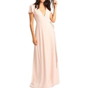 SHOW ME YOUR MUMU Noelle Wrap Maxi Dress